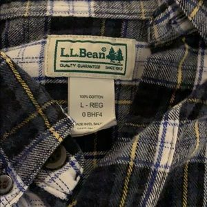 L.L. Bean Shirts - Men's LL Bean Flannel